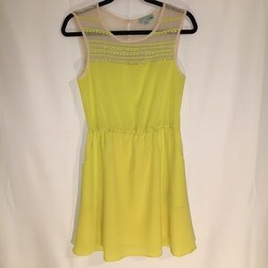 E & II & E | SMALL | SLEEVELESS LIME DRESS